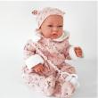 Bambola Nacida tutina rosa 40cm