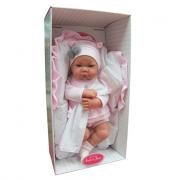 Bambola Nica Cojin rosa 40cm