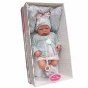 Bambolotto Bebè Cm 40 Nacido Gris (AJ3386)