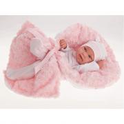 Antonio Reborn Baby Doll Recien Nacido Pipo Arrullo - 42 cm