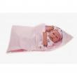 Bambola appena nata con sacco nanna 42cm