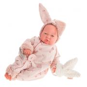 Bambola sweet reborn neonata coniglietto
