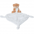 Doudou orsetto bianco 25cm