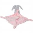 Doudou coniglietto rosa 25cm