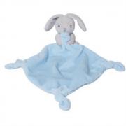 Doudou coniglietto azzurro 25cm
