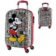 Valigia trolley rigido Mickey Mouse 45x34 cm.