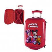 Trolley rigido Mickey&Minnie