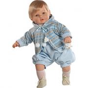 Bambola baby dulzon  maschietto 62cm