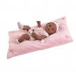 Bambola neonata nera 42cm