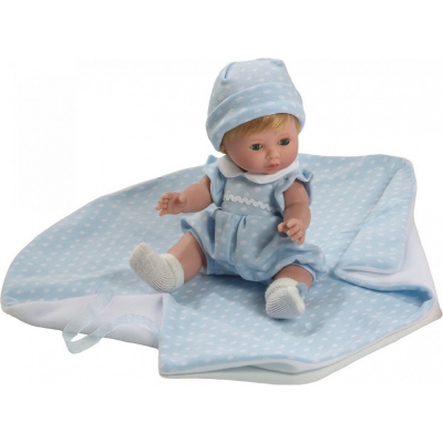 Baby chusin bambola 34cm profumata in gomma