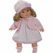 Bambola Sandra 42cm giacchina rosa