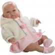 Sara bambola piangente 50cm vestito rosa