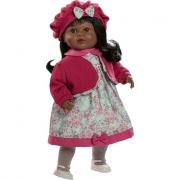 Bambola Carla nera 52cm parlante