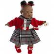 Bambola Alicia 38cm negrita piangente