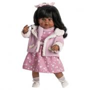 Bambola Carla negrita parlante cm. 52