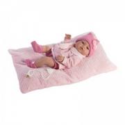 Bambola bebe appena nata vinile 42cm
