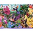 Falcon puzzle - Il giardino dei colibri' - 500 XL