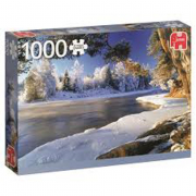 Il fiume Dal, Svezia - 1000 pezzi