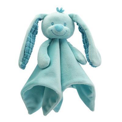 Doudou coniglietto azzurro cm. 29 Tiamo