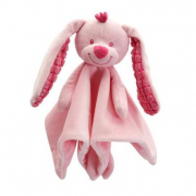 Doudou coniglietto rosa cm. 29 Tiamo