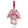 Carillon coniglietto rosa cm. 22 Tiamo