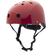 Caschetto bici ruby rosso taglia XS
