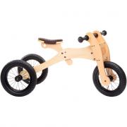 Trybike in legno sella marrone