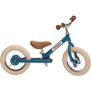 Bici senza pedali in metallo vintage blu Trybike 2 in 1