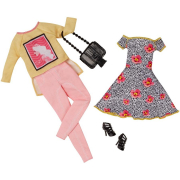 Barbie CLL20 abiti Fashion 2 pack
