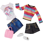 Barbie CLL18 abiti Fashion 2 pack