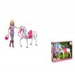 Barbie con cavallo