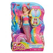 Barbie sirena colori e luci dhc40