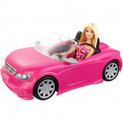 Auto sportiva con barbie inclusa