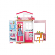 Barbie casa vacanze con bambola