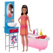 Barbie e vasca da bagno dvx53