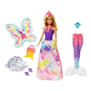 Barbie dreamtopia 3in1