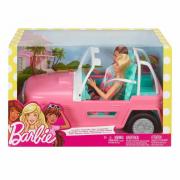 Barbie 2 bambole con jeep