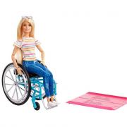 Barbie Fashionistas Bambola In Sedia A Rotelle GGL22