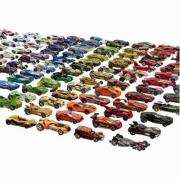 Assortimento di auto per personaggi da gioco Hot Wheels