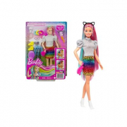 Barbie- capelli multicolor