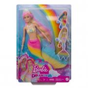 Barbie Sirena Cambia Colore con Capelli Arcobaleno