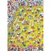 Puzzle Calcio Pazzo Mordillo 1000 pezzi