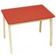 Tavolo in legno per bambini tinta legno Roba Baumann