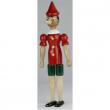 Pinocchio in legno 50cm