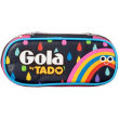 Astuccio Gola Carrel Rainbow Navy/ Fuchsia