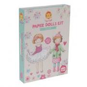 Kit bambole di carta vintage