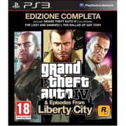 Gta IV & Episodes from Liberty City Playstation 3