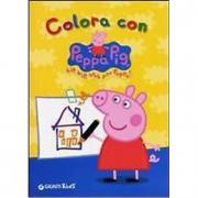 """Album """"Colora con Peppa Pig Hip hip urrà per Peppa!"""""""