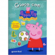 "Libro ""Gioca con Peppa Pig"" con adesivi"
