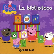 "Libro Peppa Pig ""La Biblioteca"""